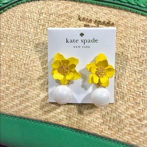🛍 Gorgeous Kate Spade into the bloom earrings